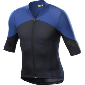 Mavic Cosmic Ultimate SL Kurzarm Trikot Herren total eclipse/blue